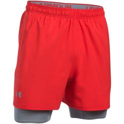 Vêtements Homme Shorts / Bermudas Under Armour Short  Qualifier 2-in-1 - 1289625-600 Rouge