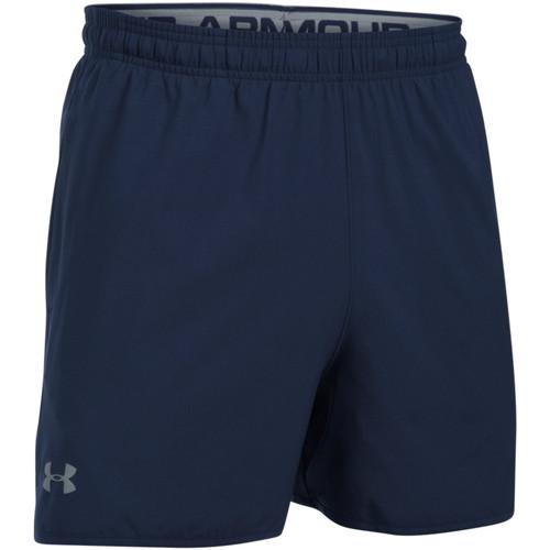Vêtements Homme Shorts / Bermudas Under Armour Short  Qualifier 5 Woven - 1289626-410 Bleu