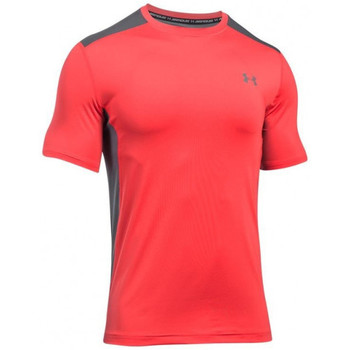 Vêtements Homme T-shirts manches courtes Under Armour Tee-shirt  Raid - 1257466-693 Rouge