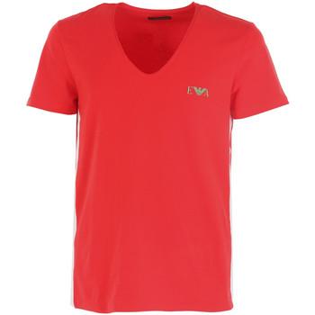 Vêtements Homme T-shirts manches courtes Emporio Armani EA7 Tee-shirt -Neck  - 111417-7P510-22474 Rouge