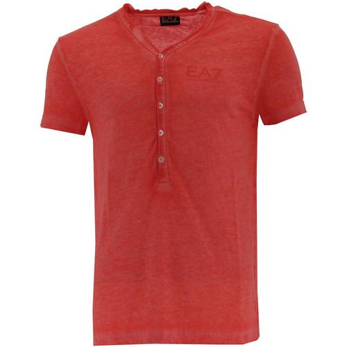 Vêtements Homme T-shirts manches courtes Emporio Armani EA7 Tee-shirt  Beach Wear - 3YPT96-PJA0Z-1460 Rouge
