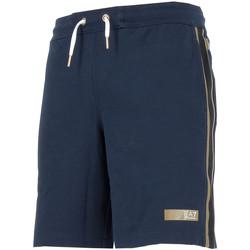 Vêtements Homme Shorts / Bermudas Emporio Armani EA7 Short  - 3YPS69-PJ28Z-1554 Bleu