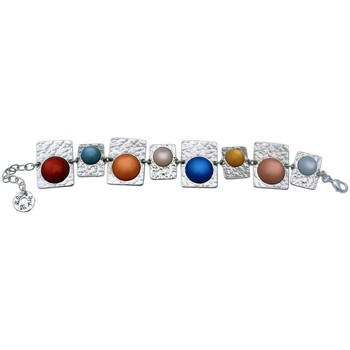 Montres & Bijoux Femme Bracelets Lili La Pie Bracelet multi motifs collection BERLIN Multicolore