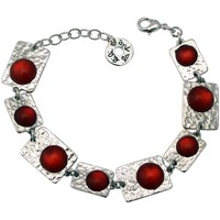 Montres & Bijoux Femme Bracelets Lili La Pie Petit bracelet multi motifs pierres collection BERLIN multicolor Rouge