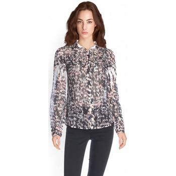 Vêtements Femme Chemises manches longues Guess Chemise Manches Longues Ls Louis Shirt Multicolore
