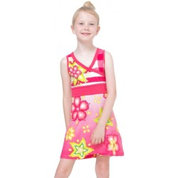 Vêtements Fille Robes courtes Desigual Robe Tunez Azaléa Rose 72V32F0 (sp) Rose