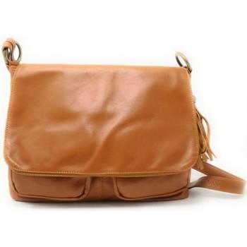 Sacs Femme Sacs porté épaule Oh My Bag Sac à Main cuir bandoulière femme - Modèle Avril (gd modèle) cog COGNAC