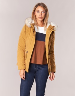 Vêtements Femme Parkas Only NEW LUCA Moutarde