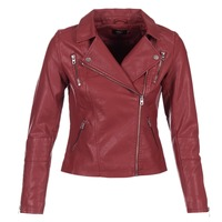 Vêtements Femme Vestes en cuir / synthétiques Only MADDY Rouge