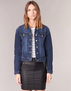 Vêtements Femme Vestes en jean Only WESTA Bleu foncé