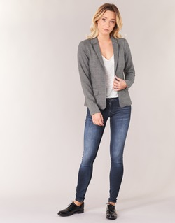 Vêtements Femme Jeans slim Only DYLAN Bleu foncé