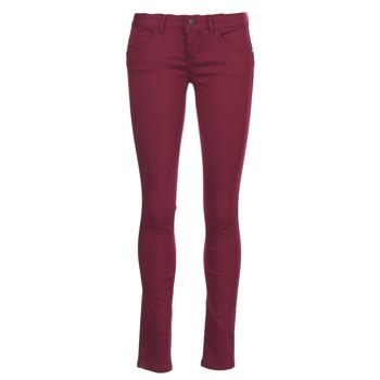 Vêtements Femme Pantalons 5 poches Only LUCIA Bordeaux