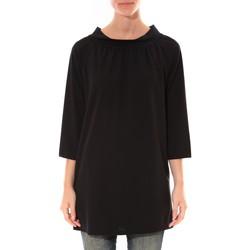 Vêtements Femme Tuniques Barcelona Moda Robe Margarita Noir Noir