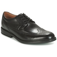 Chaussures Homme Derbies Clarks Black Leather Noir