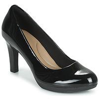 Chaussures Femme Escarpins Clarks ADRIEL VIOLA Black Pat