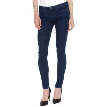 Vêtements Femme Jeans slim Guess Jean Slim Femme Bleu Denim brut W72A27 19