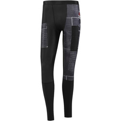 Vêtements Homme Leggings Reebok Sport Collants de compression  CrossFit Grid Graphic Noir