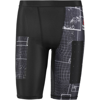 Vêtements Homme Leggings Reebok Sport Short de compression  CrossFit Noir