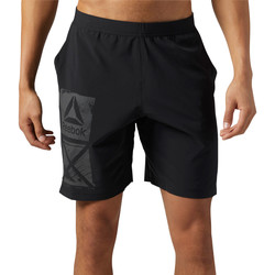 Vêtements Homme Shorts / Bermudas Reebok Sport Short Graphic Speed Noir
