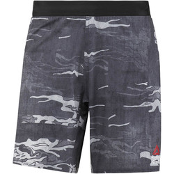 Vêtements Homme Shorts / Bermudas Reebok Sport Short de training  CrossFit Speed - motif camouflage Noir