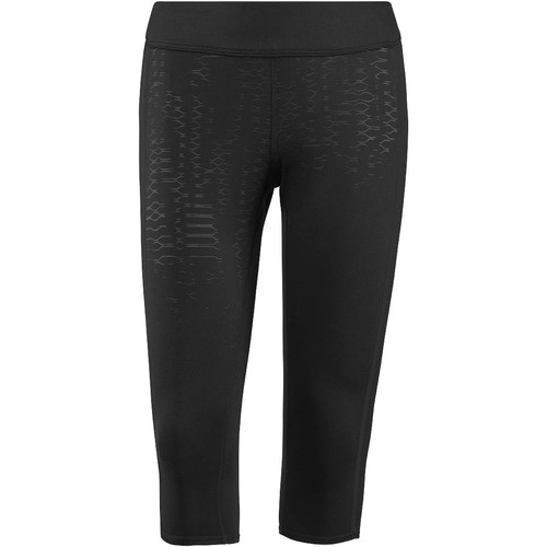 Vêtements Femme Leggings Reebok Sport Collants 3/4  CrossFit Noir