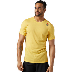 Vêtements Homme T-shirts manches courtes Reebok Sport T-shirt  CrossFit Performance Blend Graphic Yellow