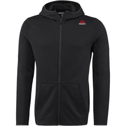 Vêtements Homme Sweats Reebok Sport Sweat à capuche zippé Quik Cotton Noir