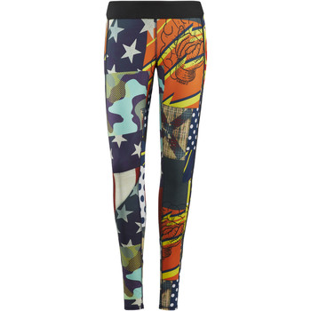 Vêtements Femme Leggings Reebok Sport Legging  CrossFit - motif Starbang Bleu