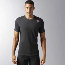 Vêtements Homme T-shirts manches courtes Reebok Sport T-shirt CrossFit Performance Blend Graphic Noir