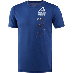 Vêtements Homme T-shirts manches courtes Reebok Sport T-shirt  CrossFit Poly Blend Blue