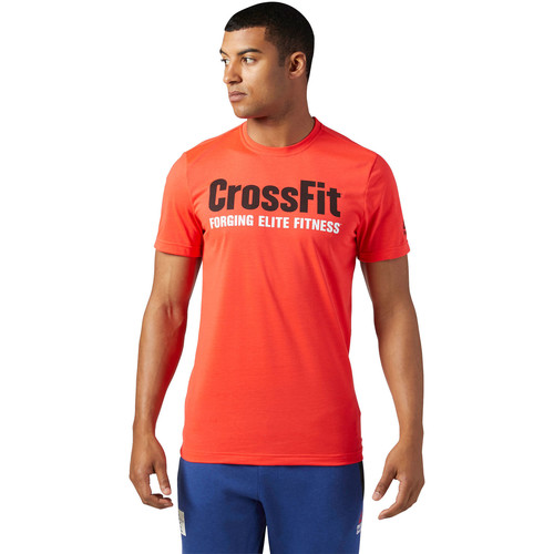 Vêtements Homme T-shirts manches courtes Reebok Sport T-shirt  CrossFit SpeedWick F.E.F T-shirt Graphic Red
