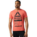 Vêtements Homme T-shirts manches courtes Reebok Sport T-shirt SpeedWick Graphic Red