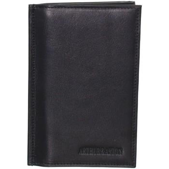 Sacs Homme Portefeuilles Arthur & Aston Porte-papiers Arthur et Aston en cuir ref_ast40389 noir