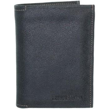 Sacs Homme Portefeuilles Arthur & Aston Portefeuille Arthur et Aston en cuir ref_ast37383-d-noir noir