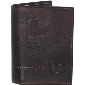 Sacs Homme Portefeuilles David William Porte-monnaie  en cuir ref_lhc40324 marron marron