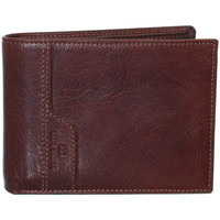 Sacs Homme Portefeuilles David William Portefeuille  en cuir ref_lhc40835-marron-12*9*2 marron