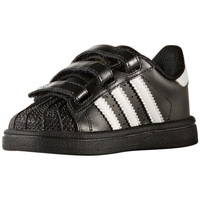 Chaussures Enfant Baskets basses adidas Originals Superstar Bébé - Ref. BZ0419 Noir