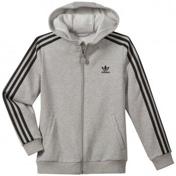 Vêtements Garçon Sweats adidas Originals Sweat  Hooded Flock - Z36072 Gris