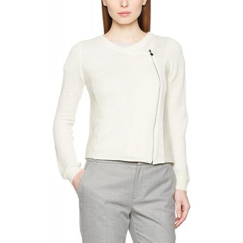 Vêtements Femme Gilets / Cardigans Le Temps des Cerises Gilet Handy Blanc Cassé Blanc cassé