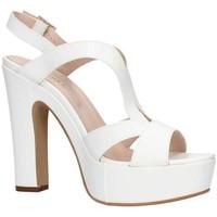 Chaussures Femme Sandales et Nu-pieds Martina B 0471 Sandale Femme blanc blanc