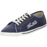 Chaussures Femme Baskets basses Tom Tailor 279310200BLUE Bleu