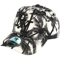 Accessoires textile Enfant Casquettes Hip Hop Honour casquette baseball enfant noire et blanche Tropical 7 à 12 ans Blanc