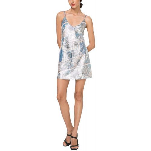 Vêtements Femme Robes courtes Desigual Robe Dorotea Marino Bleu 71V2GX9 (sp)