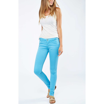 Vêtements Homme Jeans slim Itgirl Berlin Jeans  Shivaa Turquoise Femme Turquoise