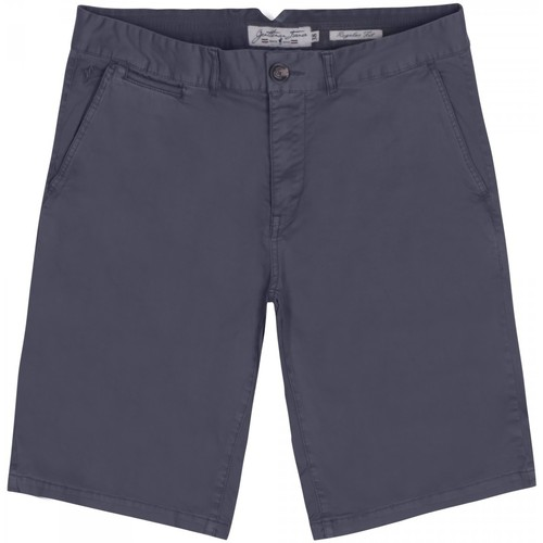 Vêtements Homme Shorts / Bermudas Gentleman Farmer Short chino Paris Gris foncé