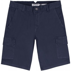 Vêtements Homme Shorts / Bermudas Gentleman Farmer Short cargo Percy Bleu