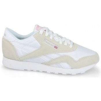 Chaussures Femme Baskets basses Reebok Sport Classic Nylon blanc