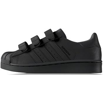 Chaussures Enfant Baskets basses adidas Originals Superstar Bébé - Ref. BZ0417 Noir