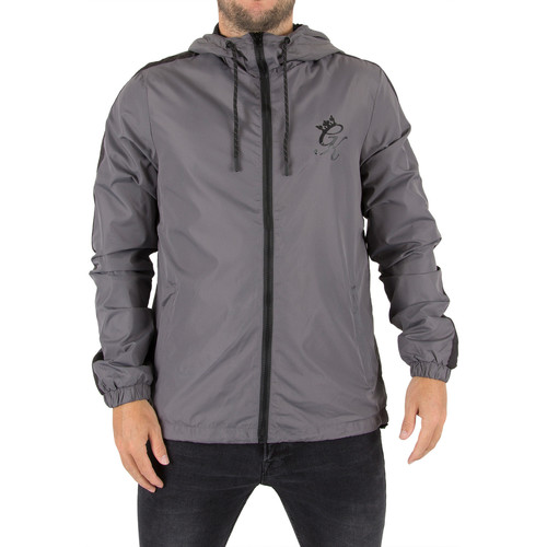 Vêtements Homme Coupes vent Gym King Homme Windrunner Logo Jacket, Gris gris