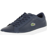 Chaussures Homme Baskets basses Lacoste Homme Straightset BL 1 CAM Trainers, Bleu bleu